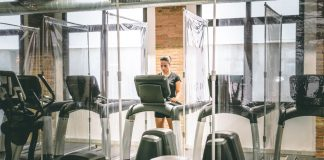 health club reopening