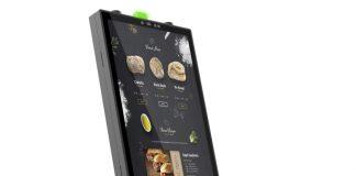 Touch Dynamic Pavilion Kiosk with fully enclosed Epson TM-m30II POS receipt printer